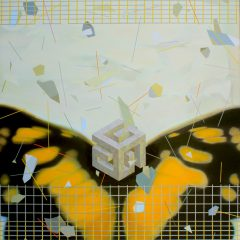 Chaos and Butterfly 2019 oil on canvas 203x158 cm Batzorig. M